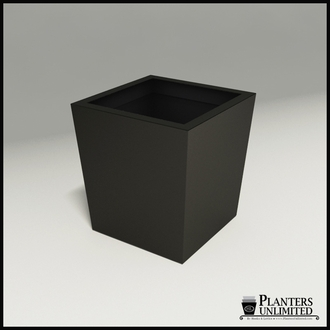Modern Tapered Fiberglass Commercial Planter 30in.L x 30in.W x 30in.H