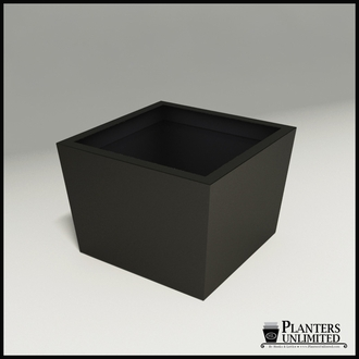 Modern Tapered Fiberglass Commercial Planter 36in.L x 36in.W x 24in.H