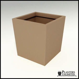 Modern Tapered Fiberglass Commercial Planter 36in.L x 36in.W x 36in.H