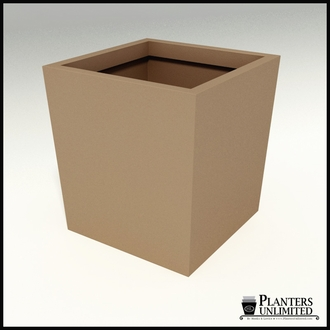 Modern Tapered Fiberglass Commercial Planter 42in.L x 42in.W x 42in.H