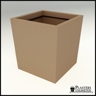 Modern Tapered Fiberglass Commercial Planter 48in.L x 48in.W 48in.H