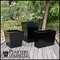 Modern Tapered Fiberglass Commercial Planter 60in.L x 60in.W 24in.H