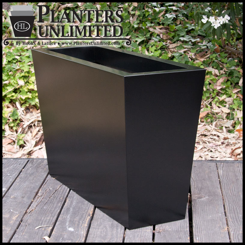 Modern Tapered Commercial Planters