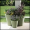 Mondrian 20in. Tapered Planter - Sage