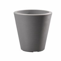 Mondrian 14in. Tapered Planter - Slate