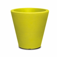 Mondrian 14in. Tapered Planter - Wasabi