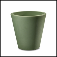 Mondrian 26in. Tapered Planter - Sage