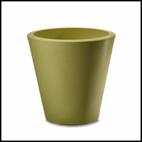 Mondrian 26in. Tapered Planter - Citrus