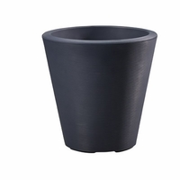 Mondrian 20in. Tapered Planter - Midnight