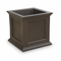 Prestige 28x28 Patio Planter - Espresso