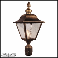 Morningside Line Voltage Post Light Fixture