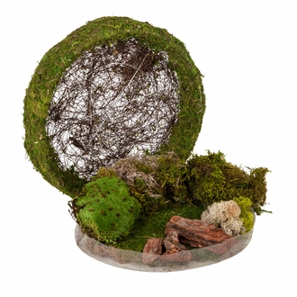 Mossy Fairy Garden Kit w/ Planter Bowl