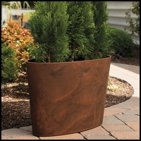Naples Large Oval Planter - 2 Colors