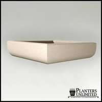 Naples Square Low Bowl Planters