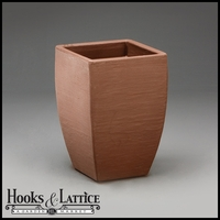 Natoma 14in. Square Tapered Planters - Vintage Copper