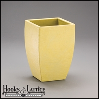 "Natoma 14"" Square Tapered Planters - Weathered Willow"