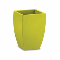 Natoma 14in. Square Tapered Planters - Wasabi
