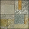 Natural Stone Deck Tiles - Box of 5