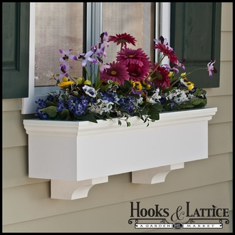 Newport Premier Direct Mount Flower Box