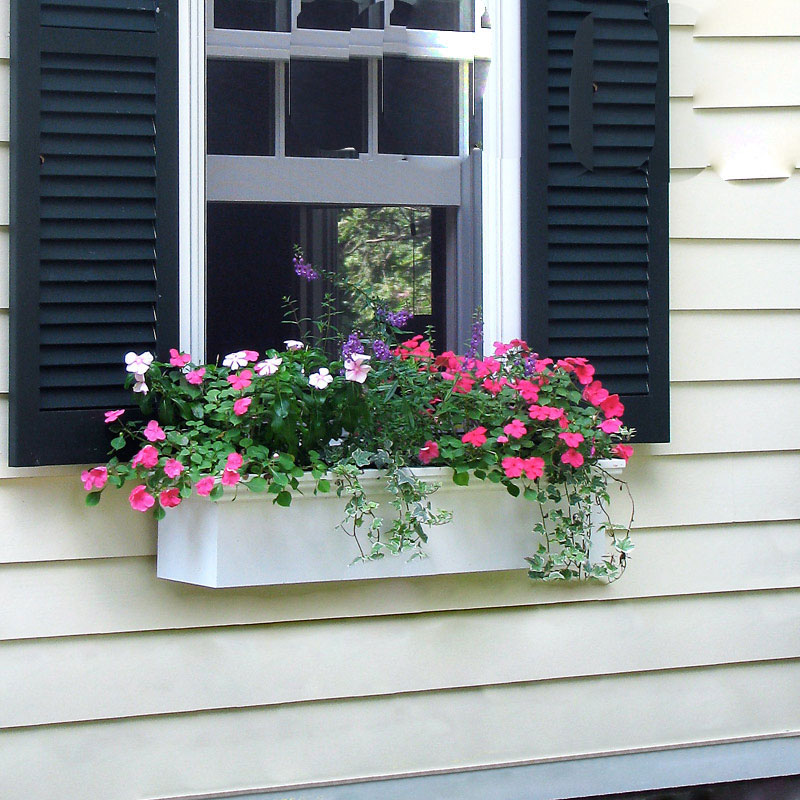 newport self watering window box planters. Black Bedroom Furniture Sets. Home Design Ideas