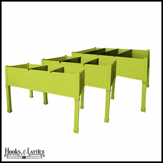 Niguel 48in. Raised Planter in Pistachio