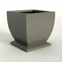 Novara Square Planter 36in.L x 36in.W x 30in.H