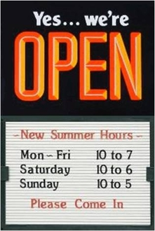 Open & Closed Signs