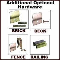 Optional  Brackets (For Fiberglass Supreme Boxes Only)