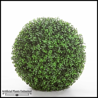 Ornamental Boxwood Topiary Balls - Indoor
