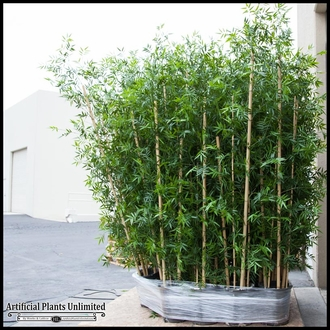 Outdoor Artificial Bamboo Cluster, 9 Canes