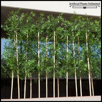 8'L Bamboo Artificial Outdoor Grove- Three Heights Available!