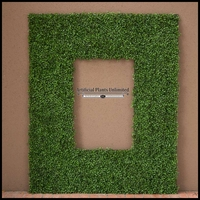 Boxwood Outdoor Artificial Frame 70in.L x 47in.H w/ 46in.L x 23in.H Opening