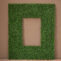 Boxwood Outdoor Artificial Frame 38in.L x 25in.H w/ 26in.L x 13in.H Opening