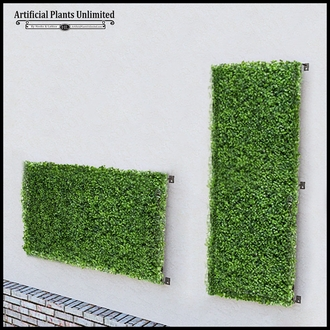 Boxwood Fire Retardant Artificial Living Wall 72in.L x 60in.H