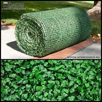 8' Boxwood Outdoor Artificial Roll