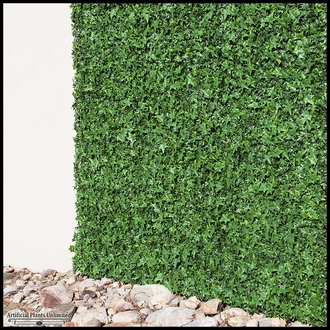 English Ivy Artificial Outdoor Living Wall 96in.L x 72in.H