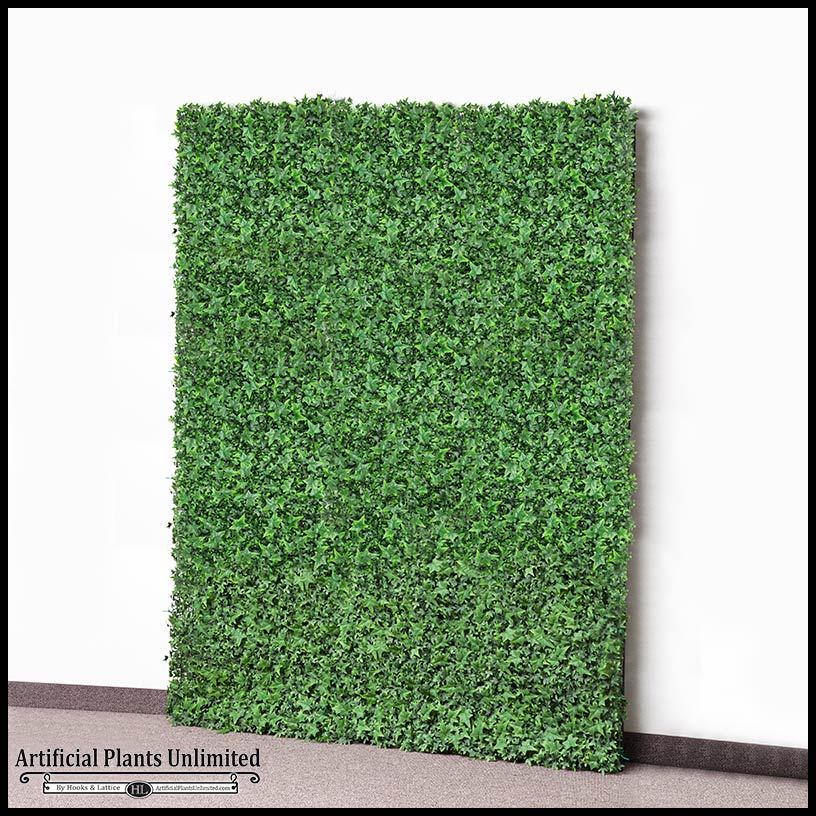 Best faux ivy wall or fence covering artificial plants for Outdoor wall coverings garden
