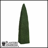Outdoor Artificial Spear Obelisk Topiaries