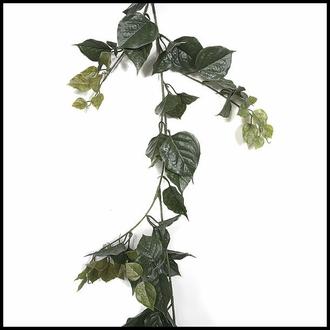 9.5' Bougainvillea Vine Garland - Green, Outdoor Rated