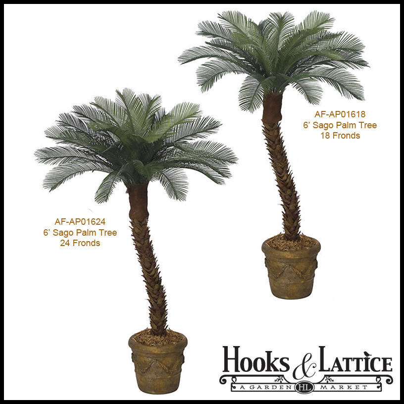 6 39 artificial small sago palm tree outdoor rated. Black Bedroom Furniture Sets. Home Design Ideas