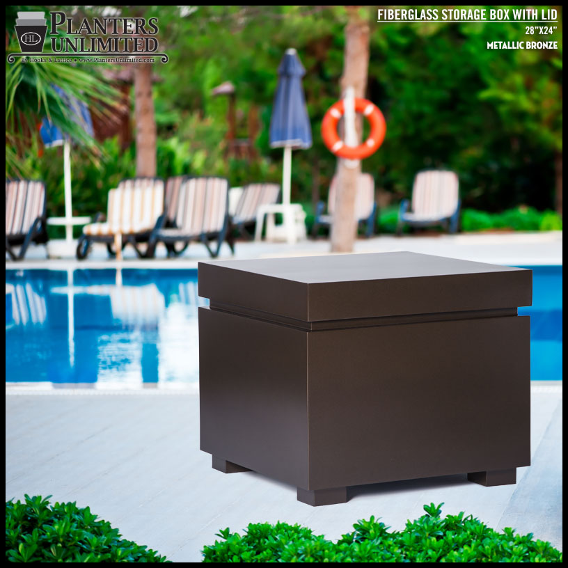 Outdoor Storage Box Table Click to enlarge & Waterproof Storage In Deck and Dock Boxes - Planters Unlimited