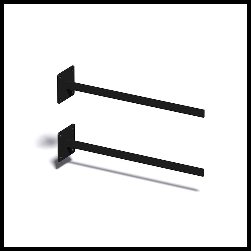 Exterior Fixed Mount Sign Brackets Sign Bracket Store