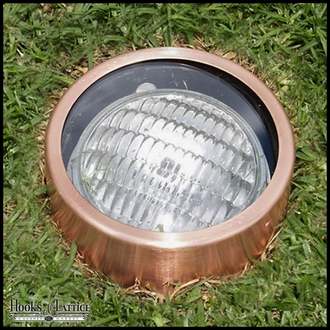 Pathway Landscape Lighting Kit in Natural Copper
