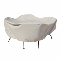 "Patio Furniture Covers - For 48"" Round Table & Chairs - No Hole"