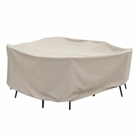 "Patio Furniture Covers - For 60"" Round Table & Chairs - No Hole"
