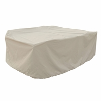 Patio Furniture Covers - For All Medium Oval Table & Chairs - No Hole