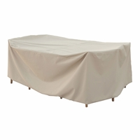 Patio Furniture Covers - For All Small Oval Table & Chairs - No Hole