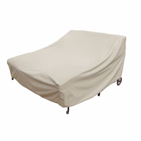 Patio Furniture Covers - For Double Chaise Lounge w/ Elastic