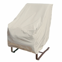 Patio Furniture Covers - For Hi - Back Chair w/ Elastic