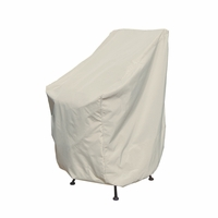 Patio Furniture Covers - For Stack Of Chairs / Bar Stool w/ Elastic
